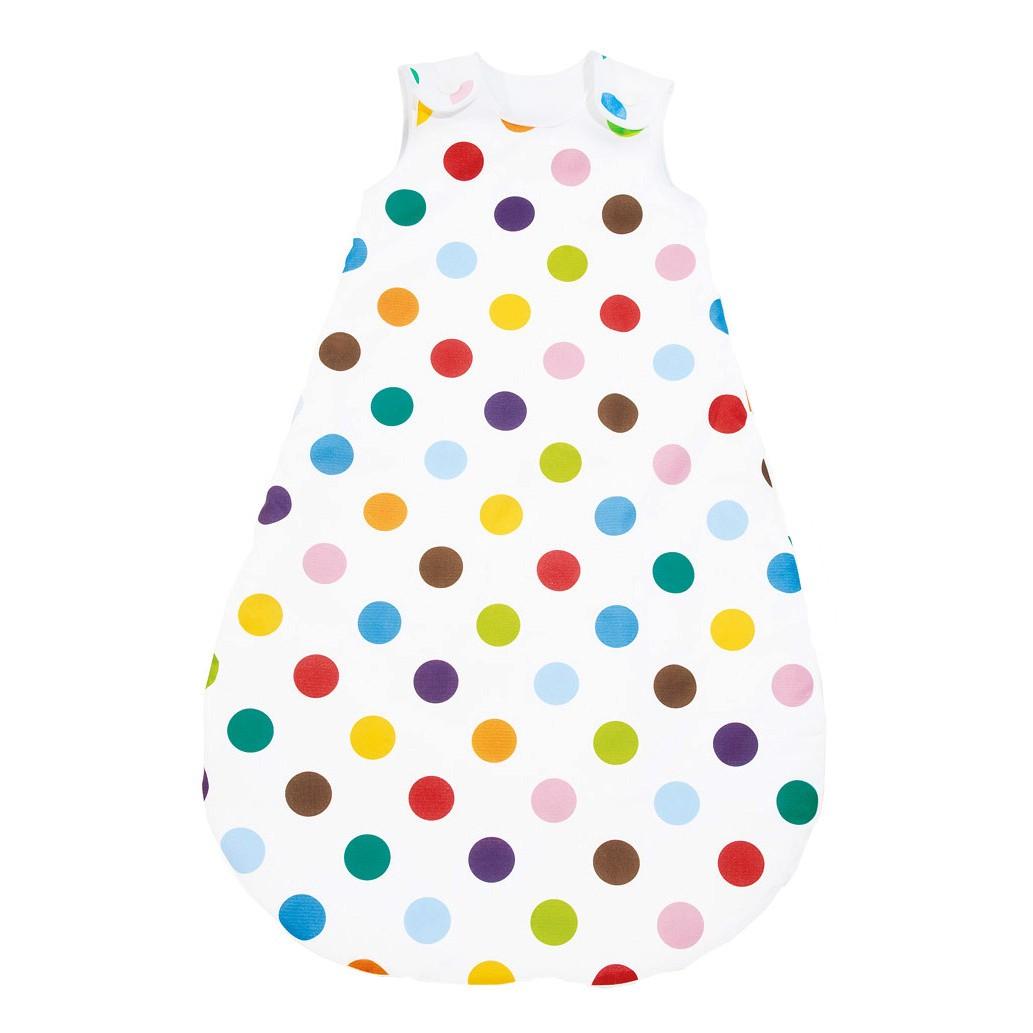 Winterschlafsack Dots - Weiß - Gr. 80, Pinolino