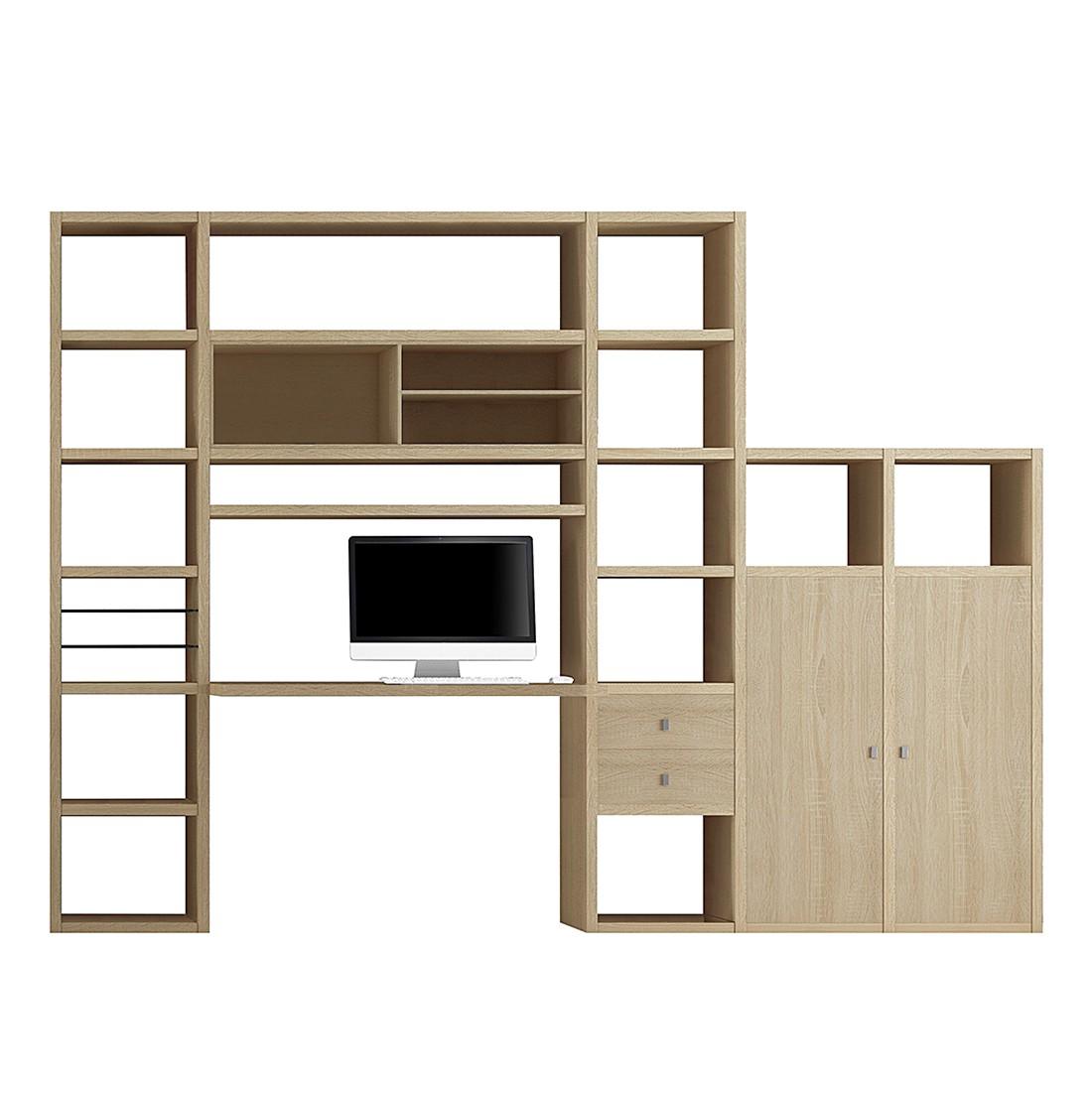 Wohnkombination Emporior I - Eiche Dekor, loftscape