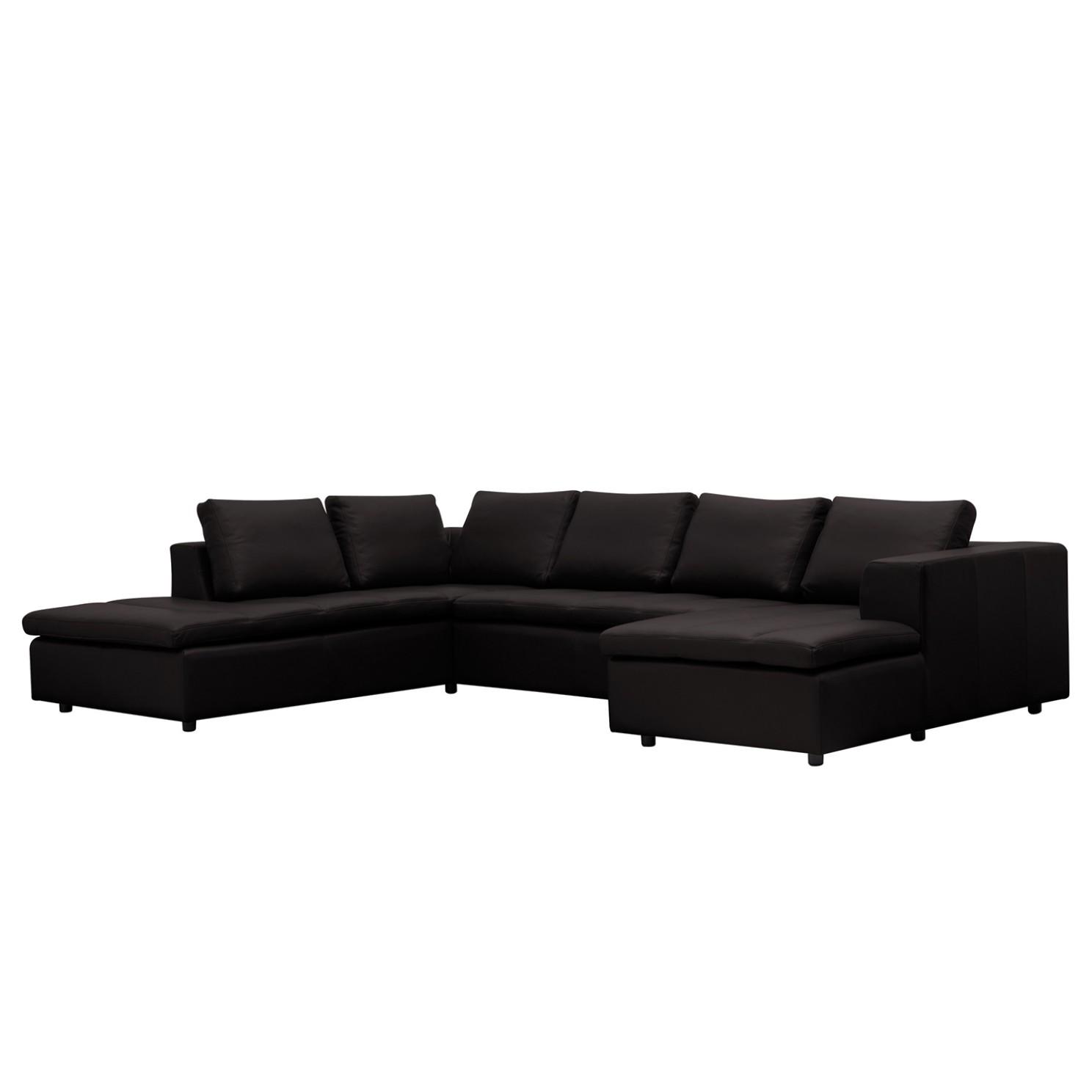 leder wohnlandschaften g nstig kaufen. Black Bedroom Furniture Sets. Home Design Ideas