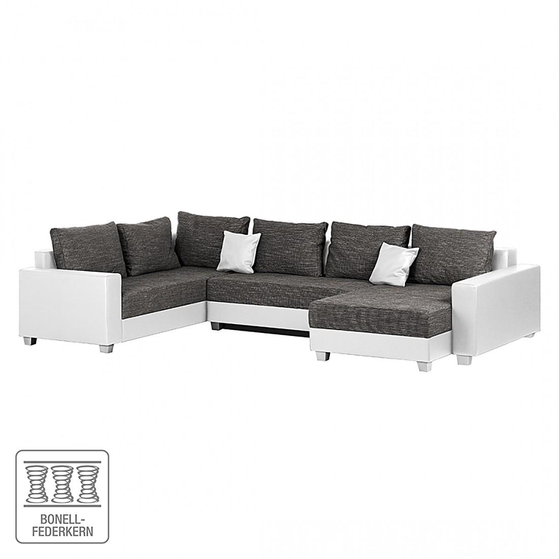 wohnlandschaft mit schlaffunktion preisvergleiche. Black Bedroom Furniture Sets. Home Design Ideas