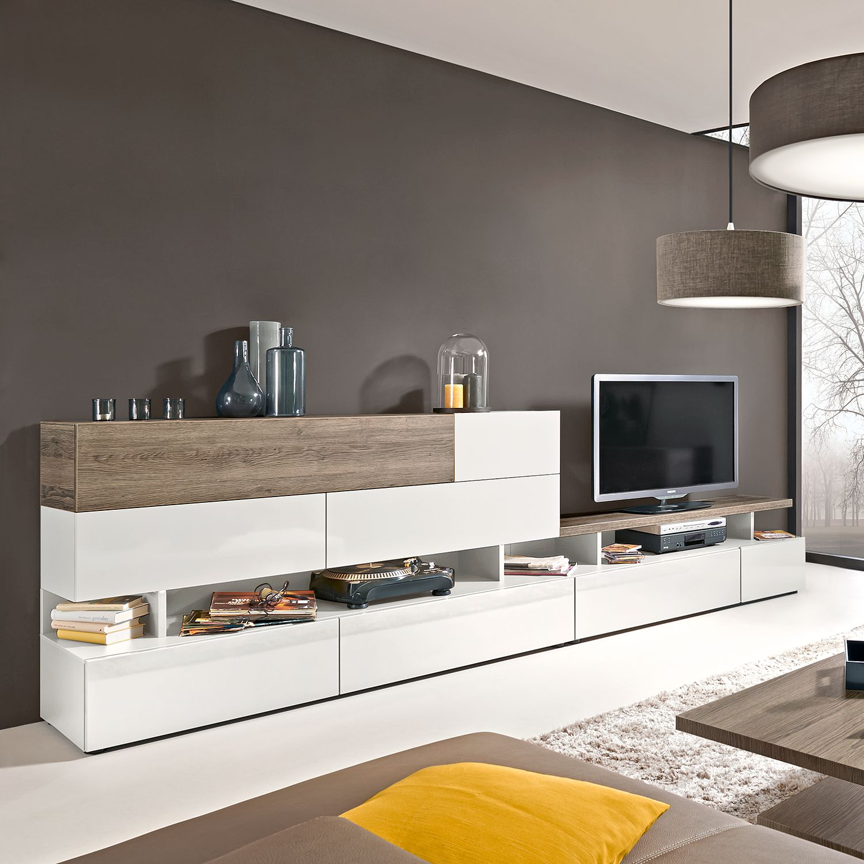 wohnwand hochglanz preisvergleiche erfahrungsberichte und kauf bei nextag. Black Bedroom Furniture Sets. Home Design Ideas