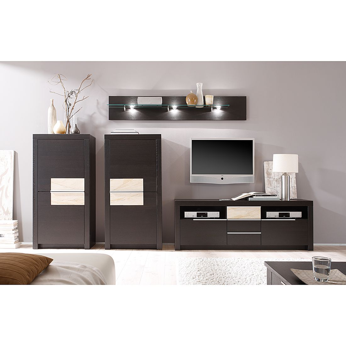porta wohnwand canberra interessante ideen f r die gestaltung eines raumes in. Black Bedroom Furniture Sets. Home Design Ideas