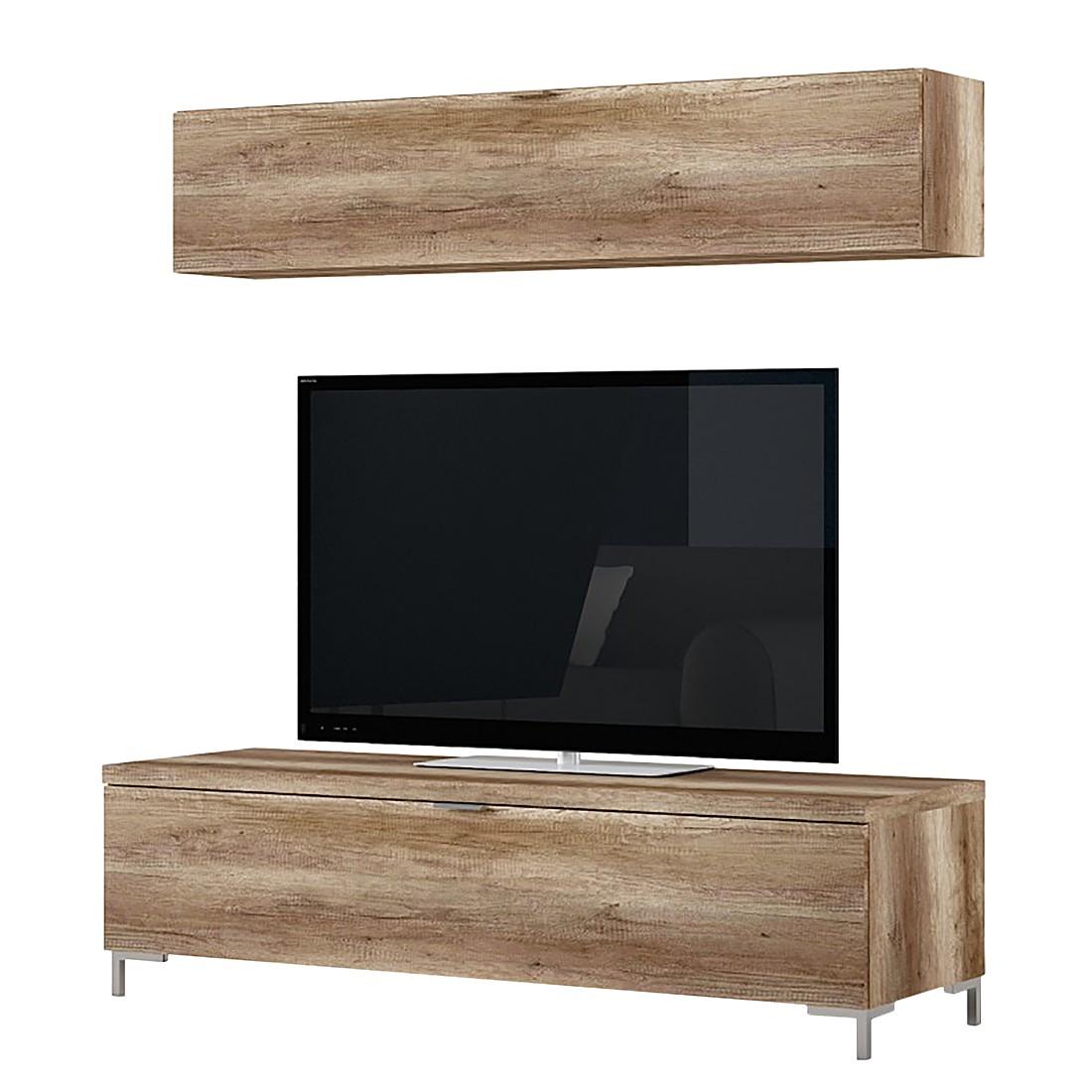 wohnwand wildeiche preis vergleich 2016. Black Bedroom Furniture Sets. Home Design Ideas