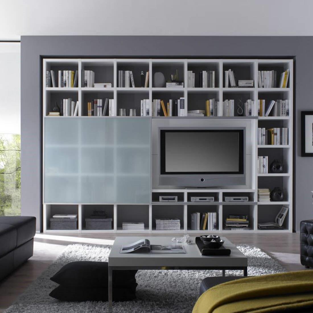 wohnwand weiss hochglanz preis vergleich 2016. Black Bedroom Furniture Sets. Home Design Ideas