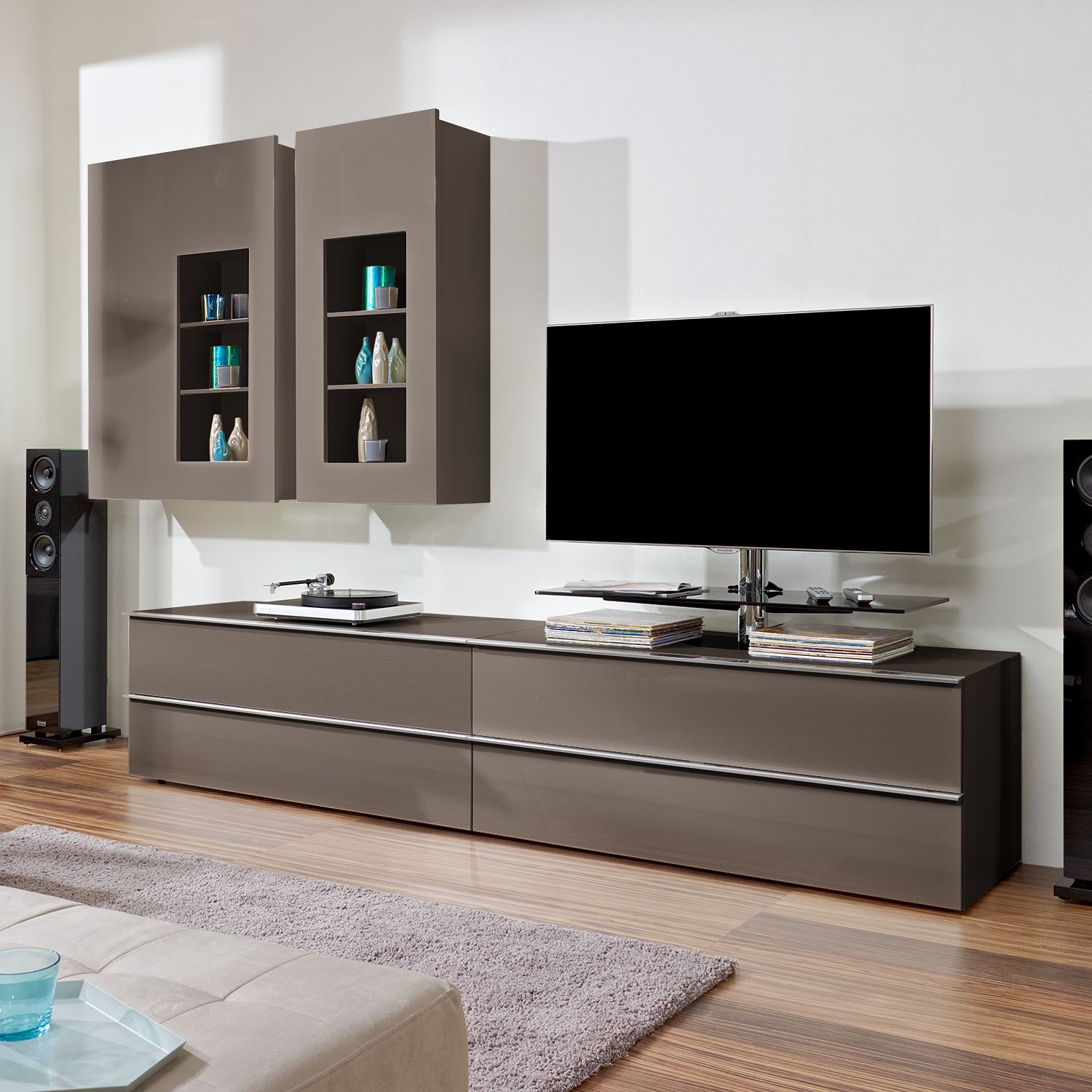 wohnwand ohne tv cheap schrankwand ohne tv wohnwand tlg schwarz plans with wohnwand ohne tv. Black Bedroom Furniture Sets. Home Design Ideas