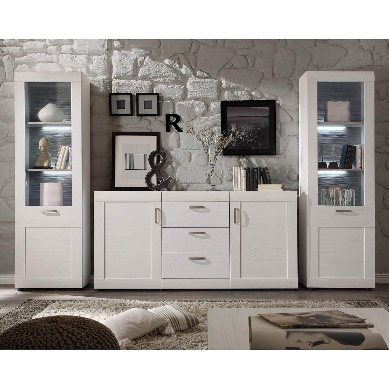 wohnwand pinie g nstig kaufen. Black Bedroom Furniture Sets. Home Design Ideas