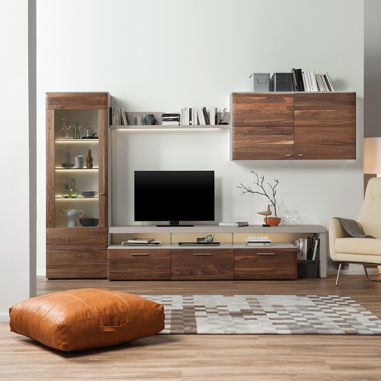 wohnwand nussbaum preis vergleich 2016. Black Bedroom Furniture Sets. Home Design Ideas