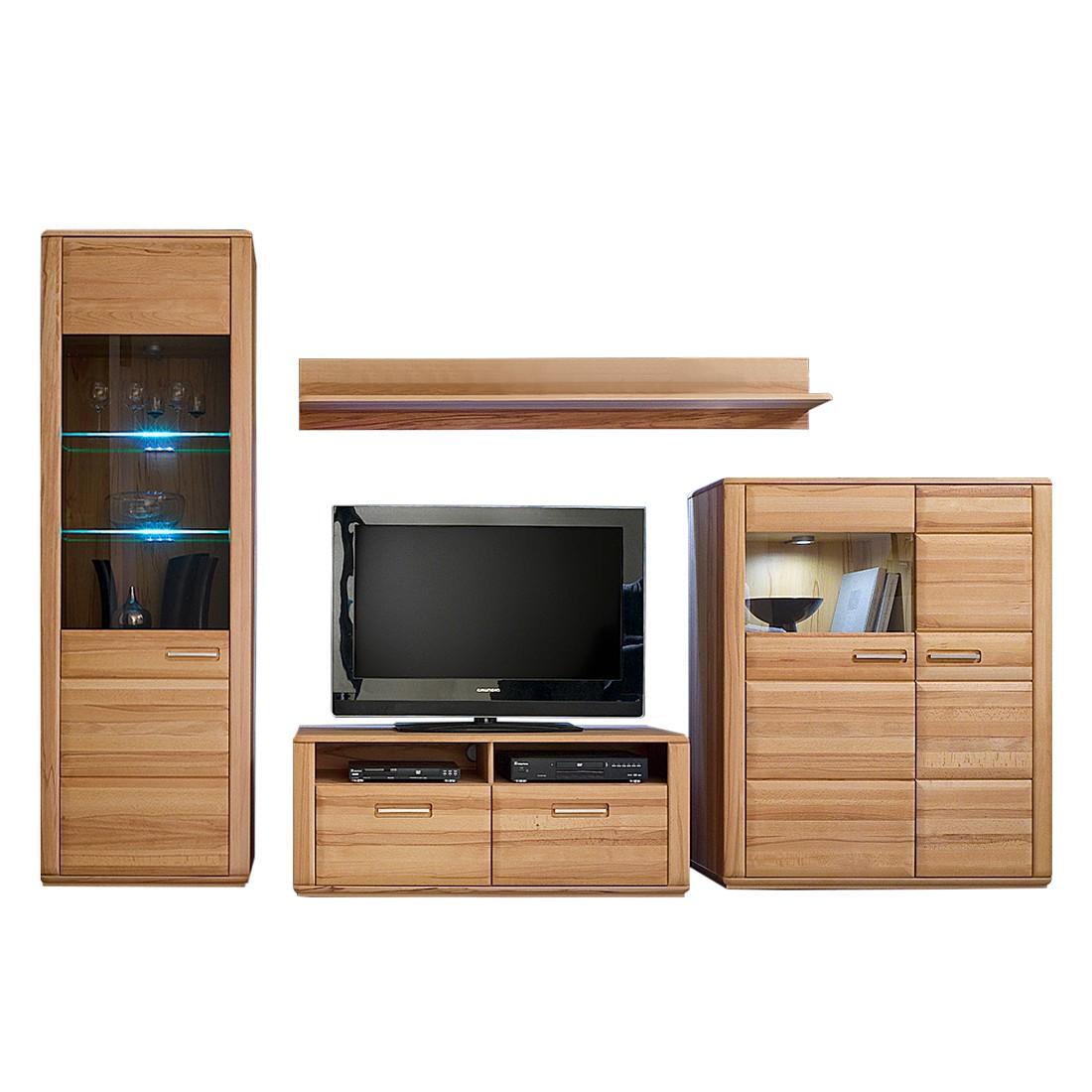 Shabby chic und modern kombinieren for Anbauwand modern wohnwand