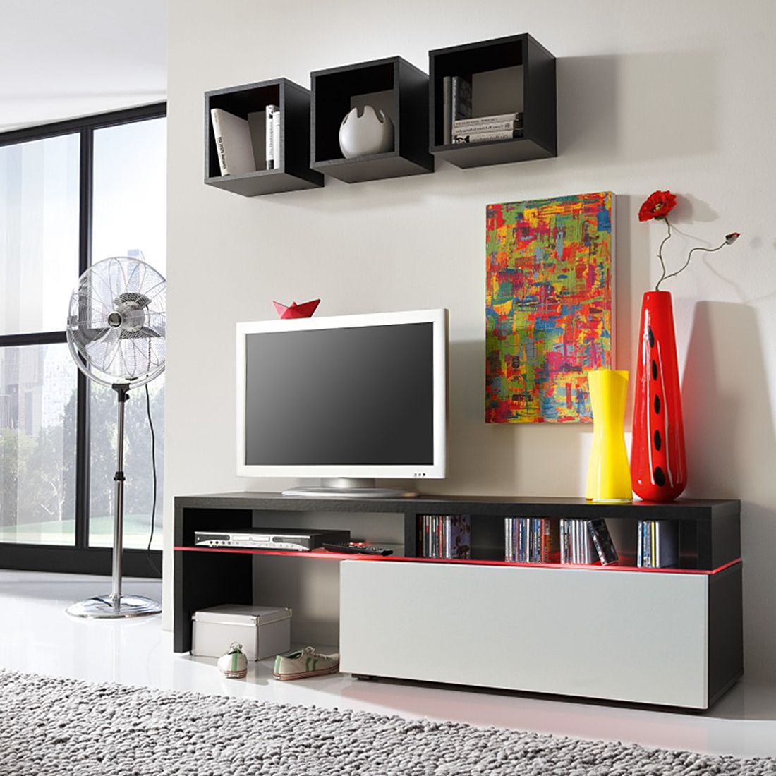 Wohnwand Elemente Style : Television guide d achat