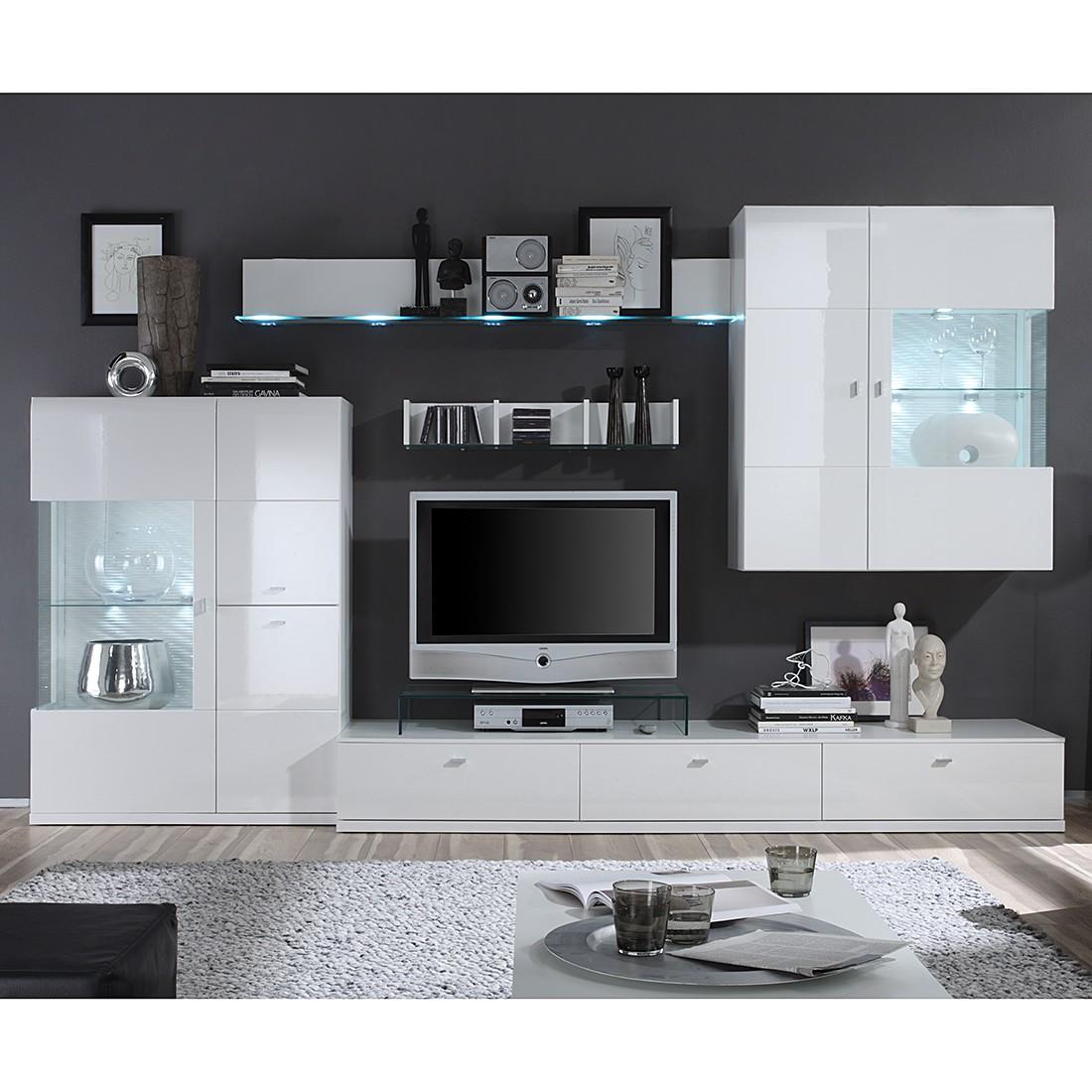 kerkhoff wohnwand wei interessante ideen f r die gestaltung eines raumes in. Black Bedroom Furniture Sets. Home Design Ideas