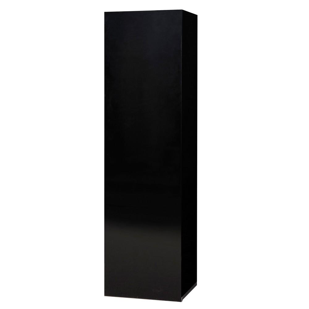 Wohnzimmer hangeschrank menton schwarz mdf schrank for H ngeschrank schwarz