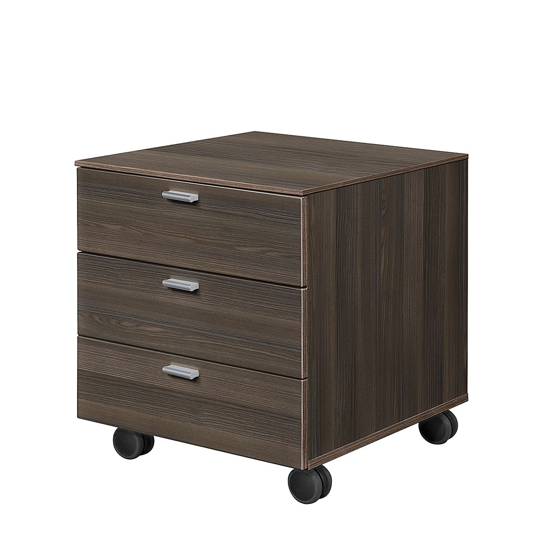 rollcontainer work 3 schubladen esche dunkel dekor. Black Bedroom Furniture Sets. Home Design Ideas