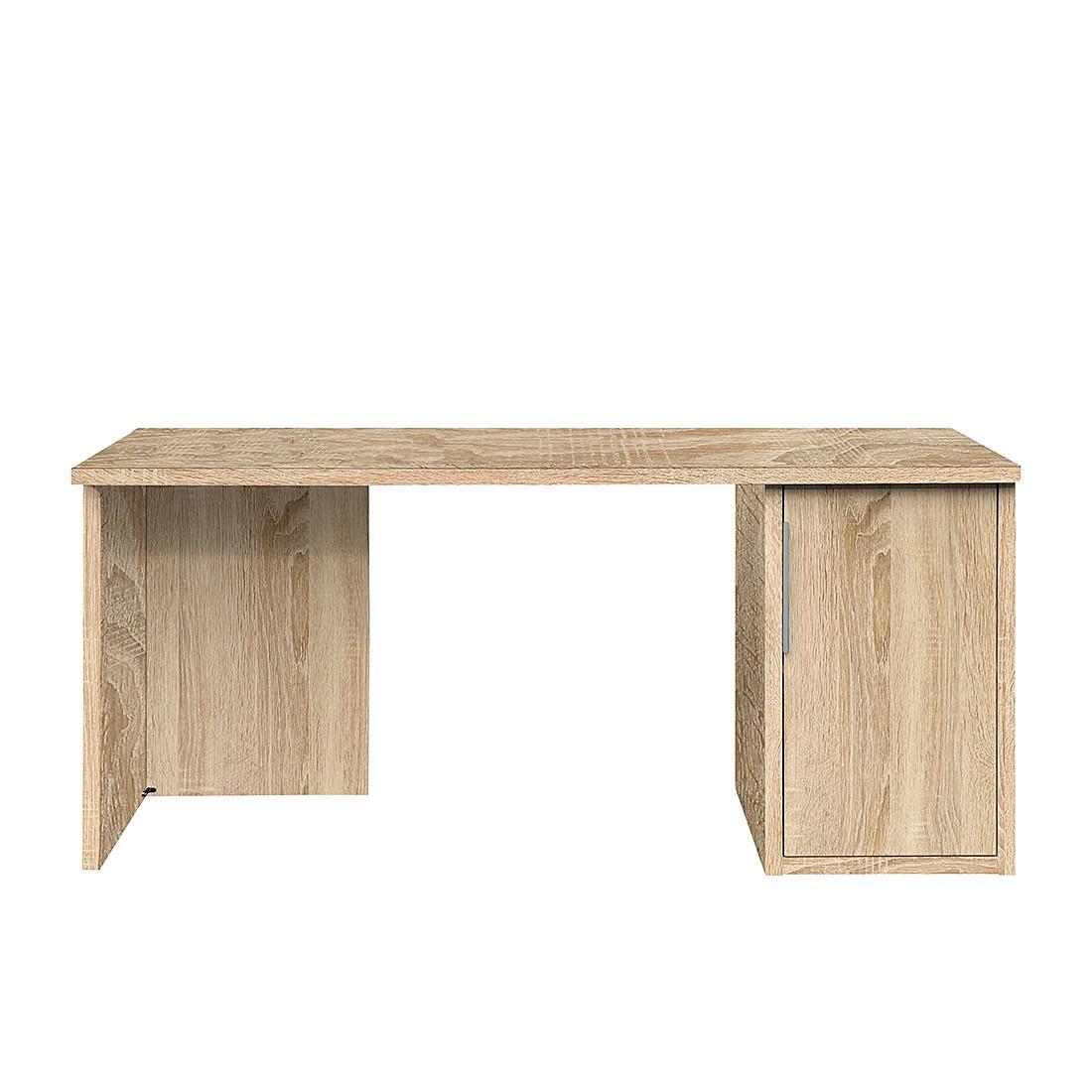 schreibtisch work eiche dekor l nge 140 cm arte m jetzt kaufen. Black Bedroom Furniture Sets. Home Design Ideas