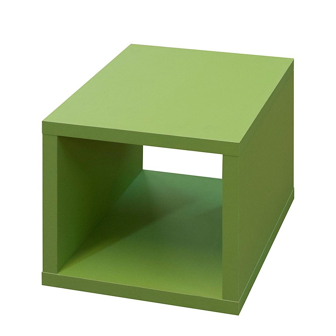 Würfelregal Konstanz – Supermatt Grün, mooved günstig kaufen