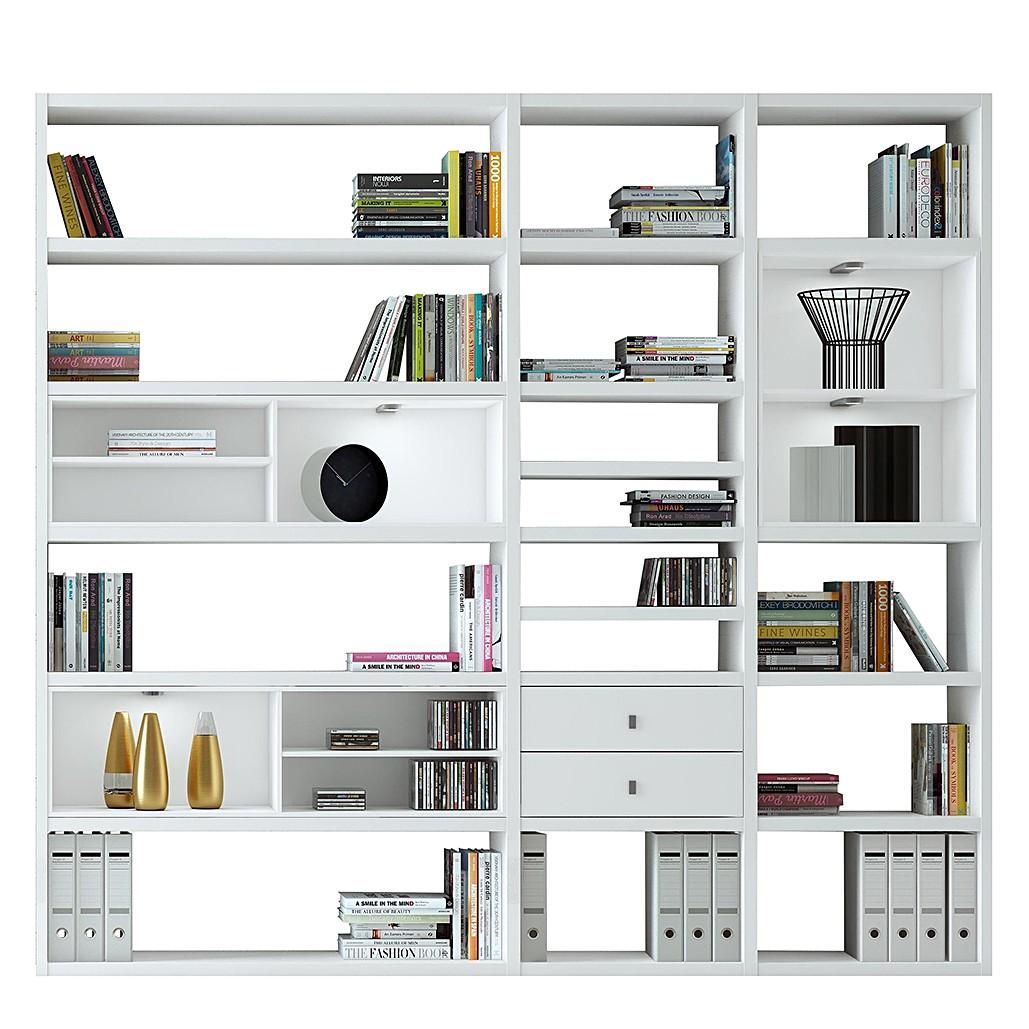 XL Regalwand Emporior I.B – Matt Weiß Ohne Beleuchtung, loftscape günstig bestellen