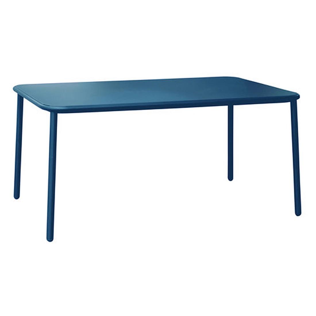 Tisch Yard - Aluminium Blau, Emu