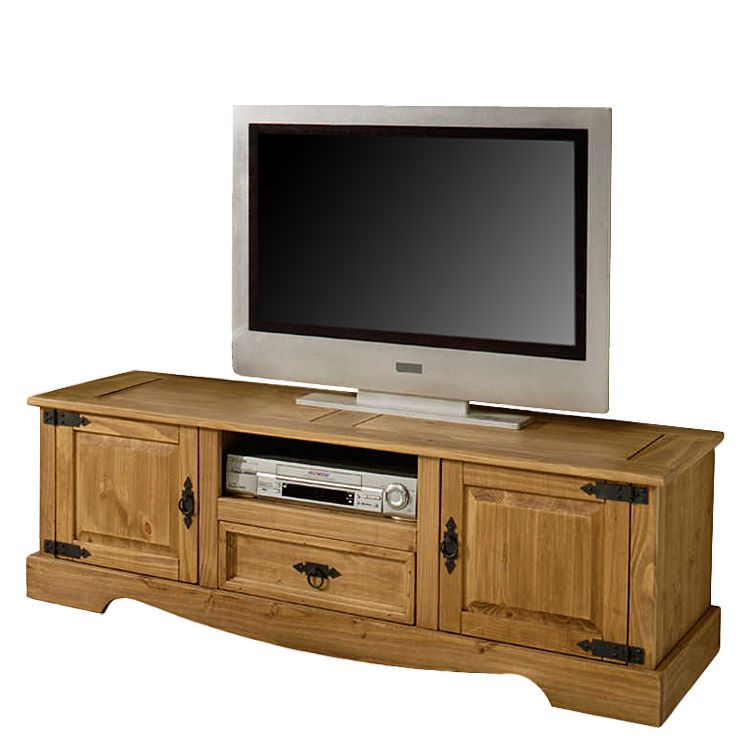 tv board zacateca ii kiefer massiv antik landhaus classic jetzt kaufen. Black Bedroom Furniture Sets. Home Design Ideas