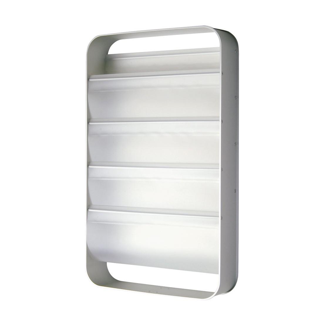Zeitungsregal Redondo 4 Fächer 71 cm – Polypropylen, Aluminium Silber, Transparent, Reisenthel Accessoires bestellen