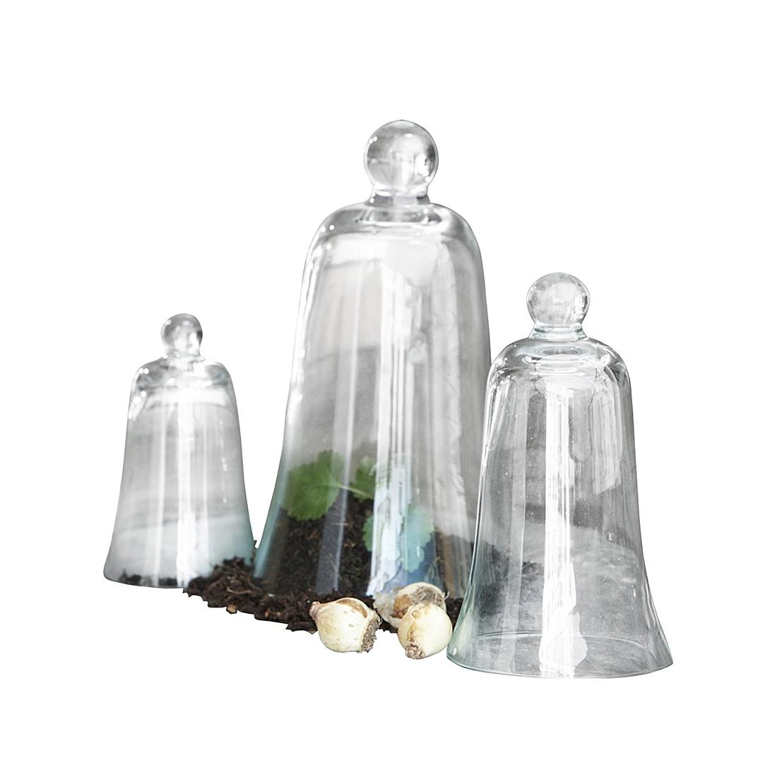 Ziehglocken 3er Set Dustin – Glas klar, Loberon jetzt bestellen
