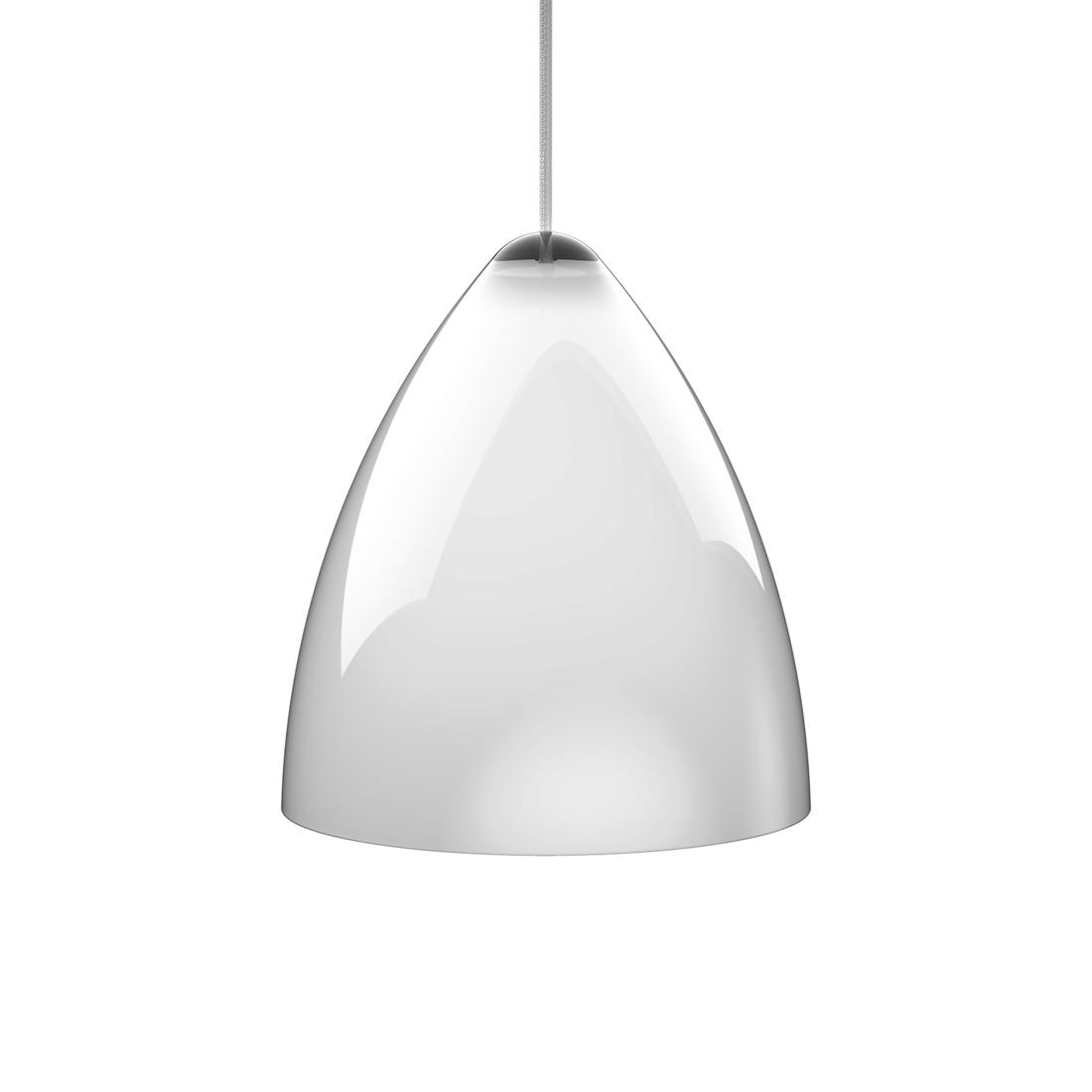 Nordlux Hanglamp Funk - plexiglas/textiel - wit/wit (Diameter 27cm) Home24