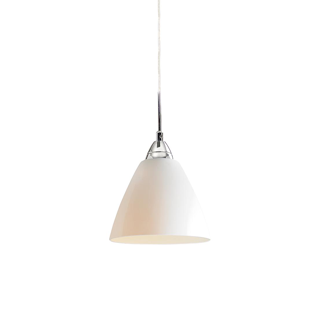 Nordlux Hanglamp Read - metaal/glas -opaalwit - verschillende afmetingen (Diameter: 14cm) Home24