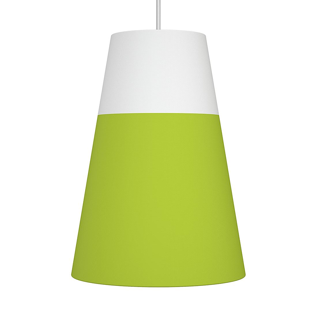 Nordlux Hanglamp Respect - textiel, metaal - groen, mat zilverkleurig (Diameter: 30/16cm) Home24
