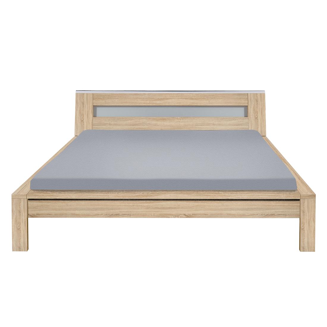 arte m trends bett mit polsterkopfteil wei futonbett preisvergleich g nstig kaufen bei. Black Bedroom Furniture Sets. Home Design Ideas