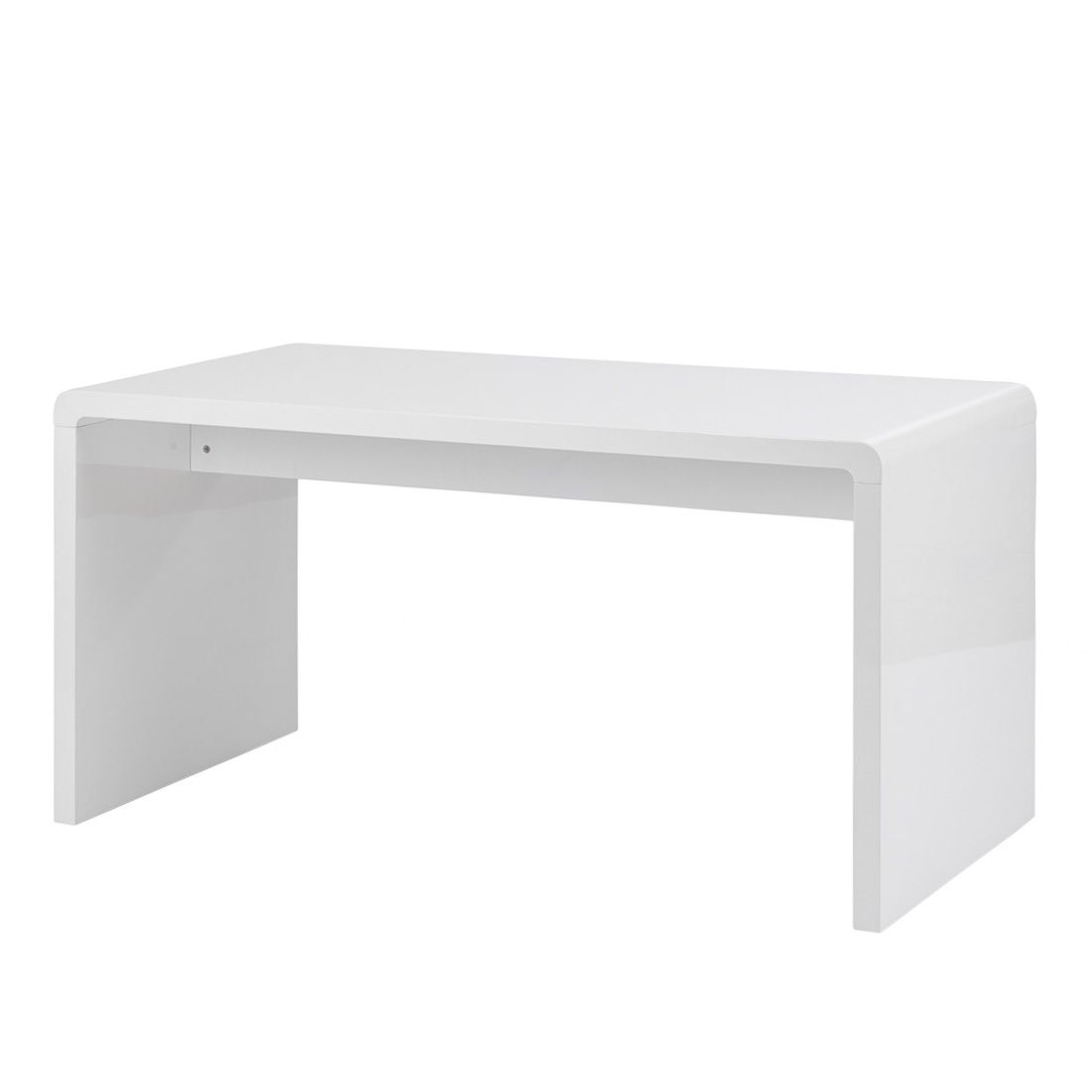 Kare Design Bureau White club - hoogglans wit Home24