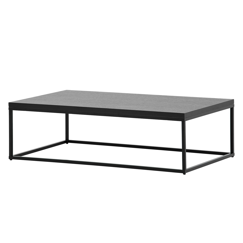 Table basse Lando II - Noir - 102,5 x 60 cm,