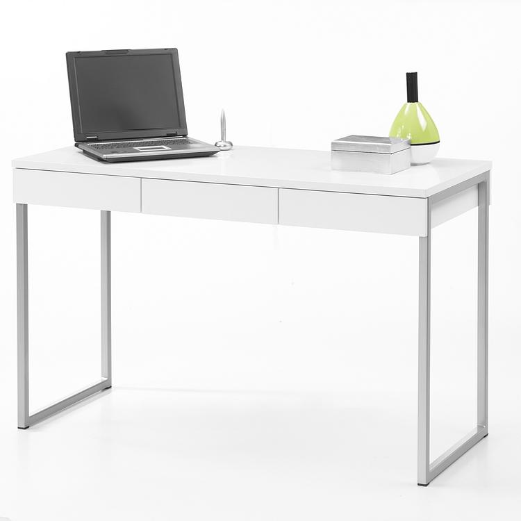 Computertisch wei schmal bestseller shop f r m bel und for Schreibtisch schmal
