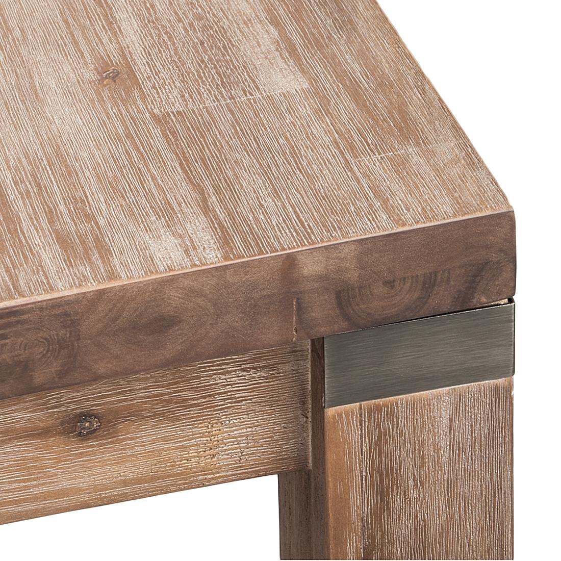 Charming Bartisch Akazie Grau 120x95cm Stehtisch Küchentisch Esstisch . Design Ideas