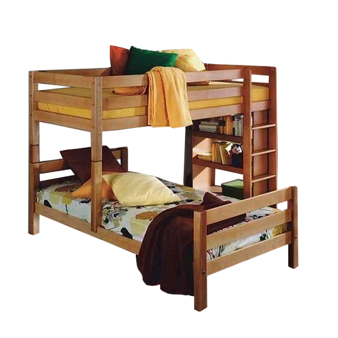 etagenbett buche massivholz je 90x200 hochbett holzbett kinderbett bett neu ebay. Black Bedroom Furniture Sets. Home Design Ideas