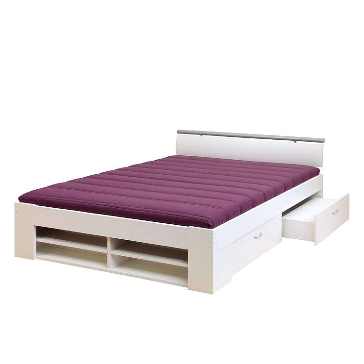 Bett 120x200 mit schubladen  Bett Weis 100x200 Holz: 24 Bilder Des Bett Weiß 100×200 Ideen Für ...