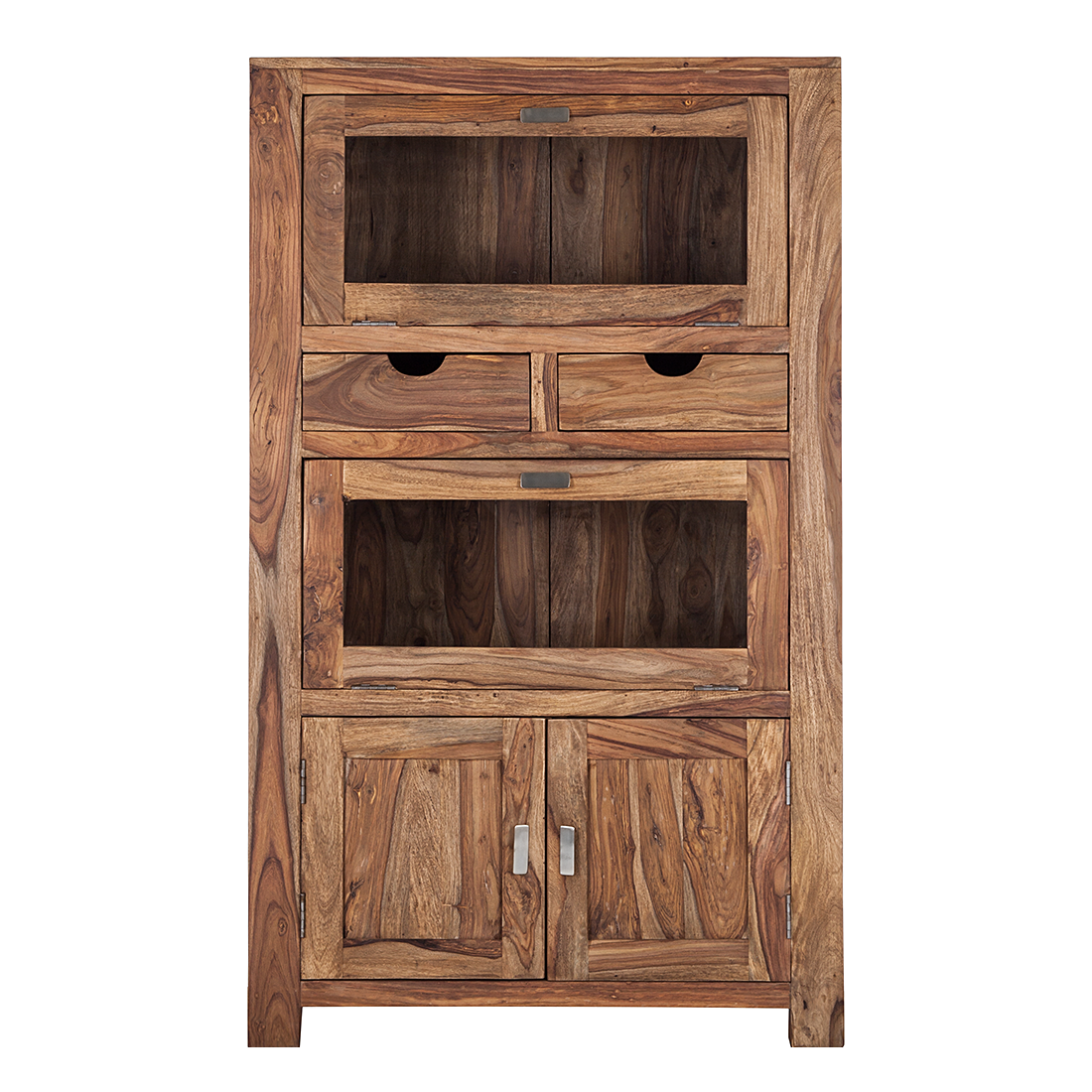 wolf m bel brotschrank massivholz palisander sheesham k chenschrank highboard. Black Bedroom Furniture Sets. Home Design Ideas