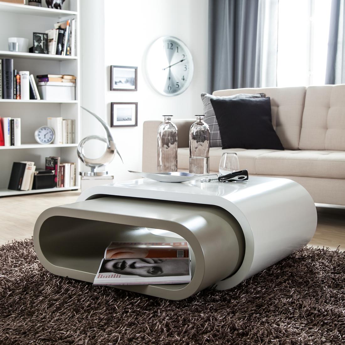couchtisch grau weis couchtisch wei chromgestell mit. Black Bedroom Furniture Sets. Home Design Ideas