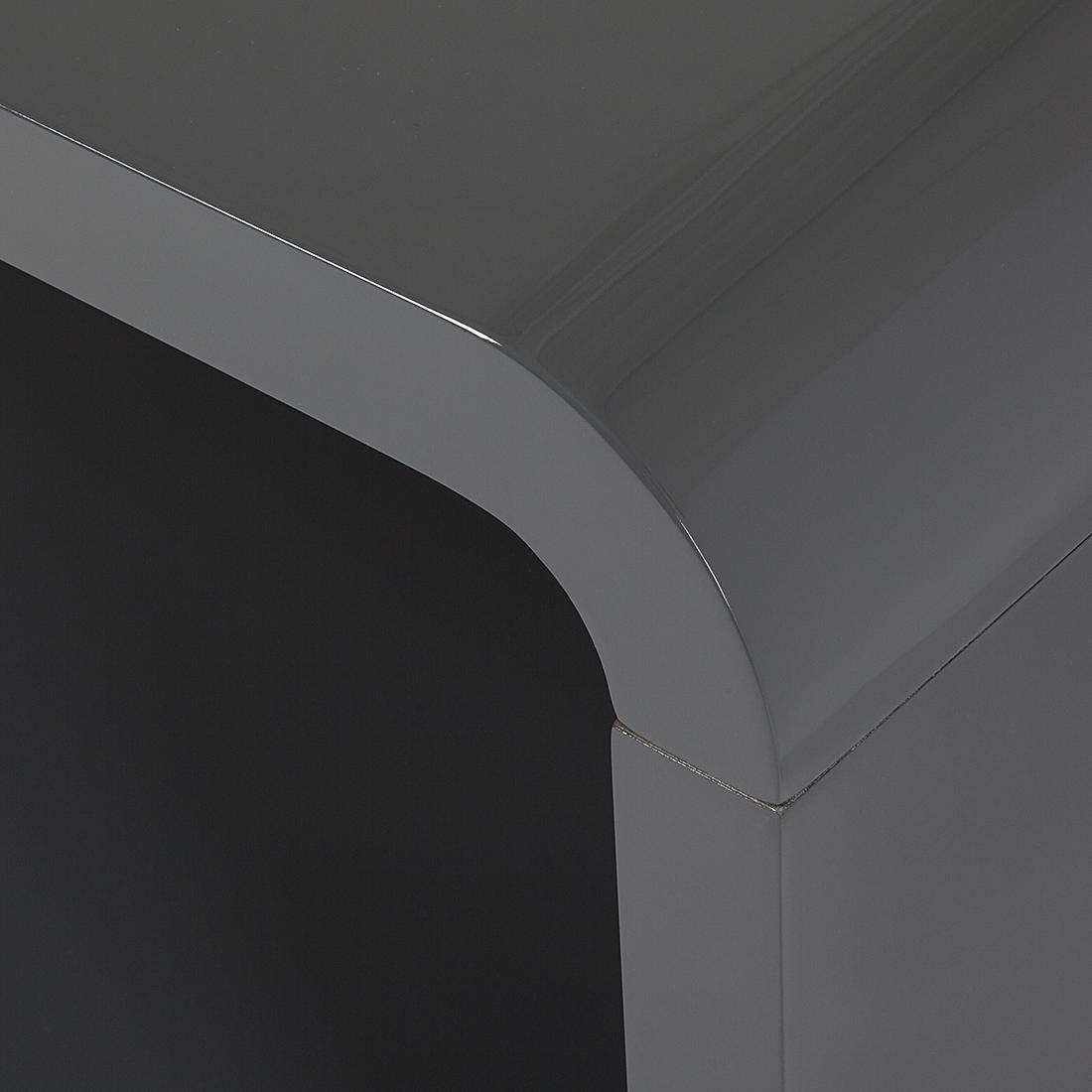88 wohnzimmer tisch grau das bild wird geladen for Design couchtisch district highgloss mit led beleuchtung