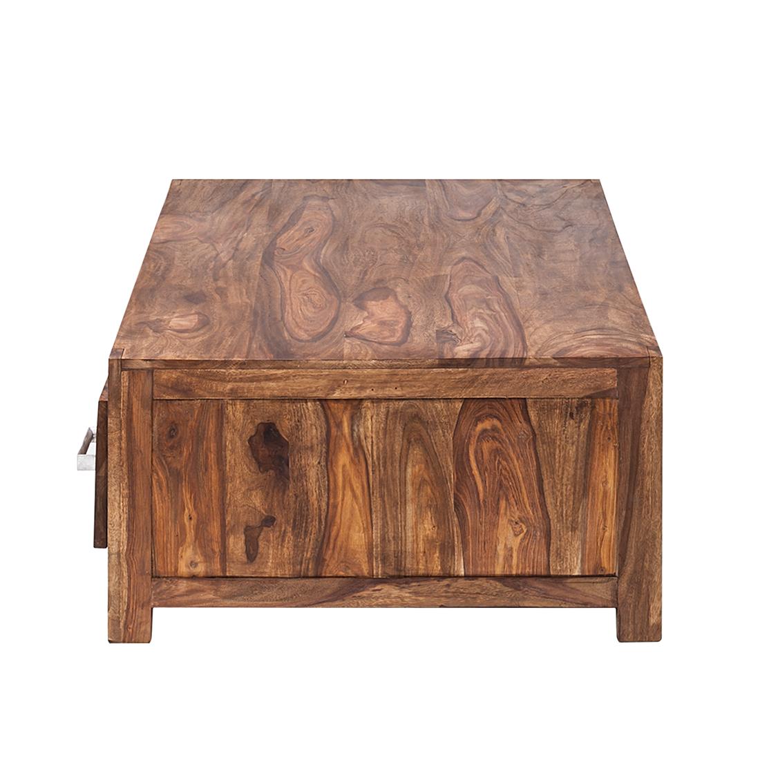 couchtisch 4 schubladen sheesham massivholz beistelltisch couch sofa tisch neu ebay. Black Bedroom Furniture Sets. Home Design Ideas