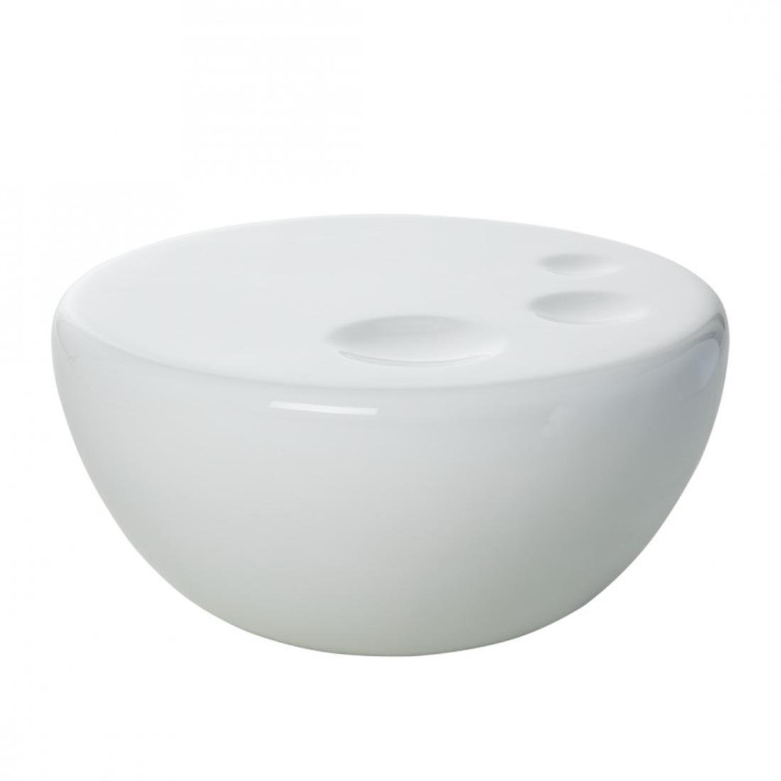 Couchtisch Fiberglas Weiß Hochglanz Beistelltisch  -> Couchtisch Weiß Fiberglas