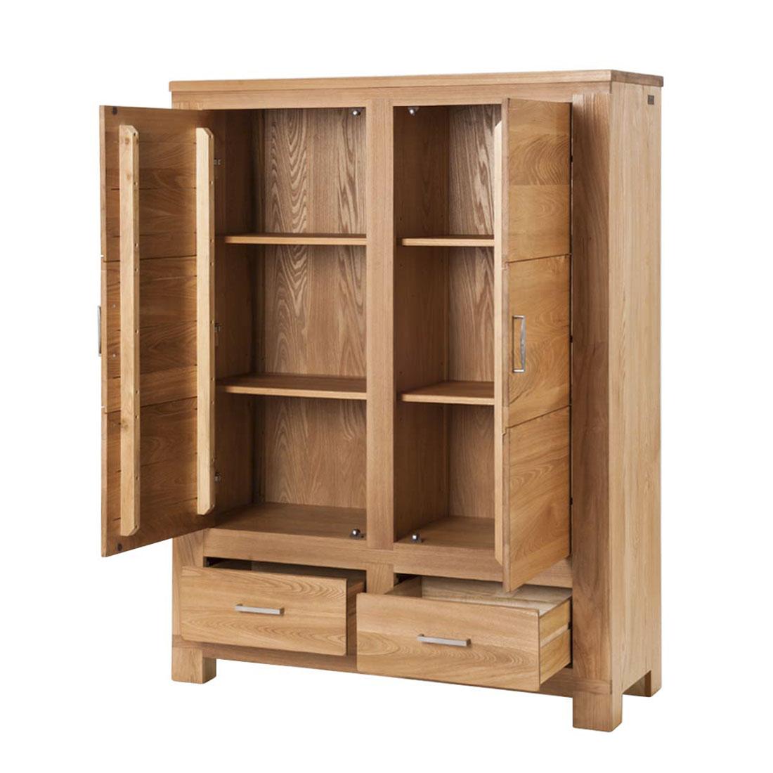 esszimmerschrank wandschrank ulme furniert geschirrschrank. Black Bedroom Furniture Sets. Home Design Ideas