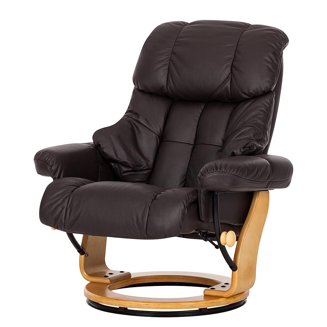 Echtleder-Relaxsessel Sessel Wohnzimmer 105x85x85cm Echtleder ...
