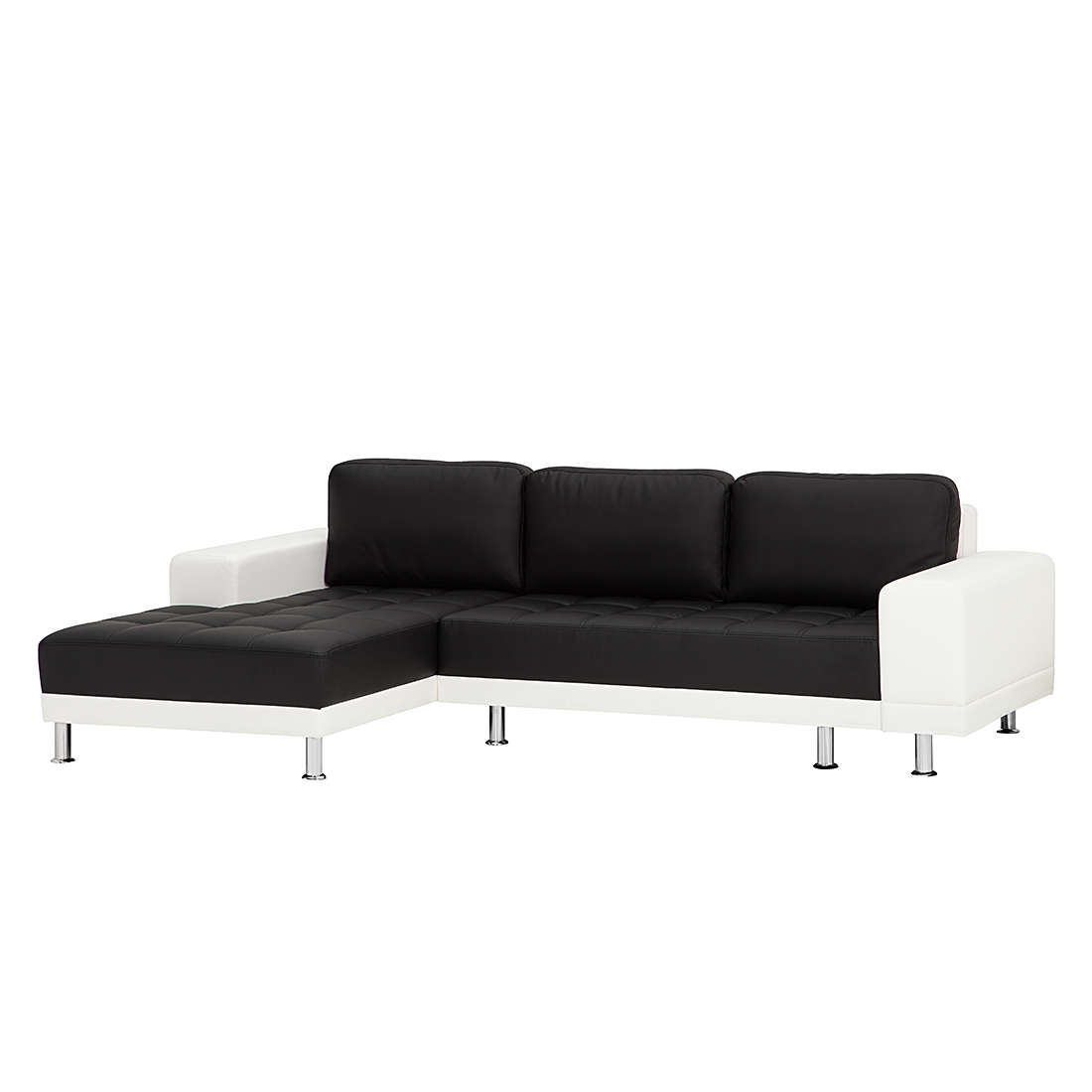 ecksofa schwarz wei schlafsofa schlafcouch sofa couch eckcouch g stesofa neu ebay. Black Bedroom Furniture Sets. Home Design Ideas