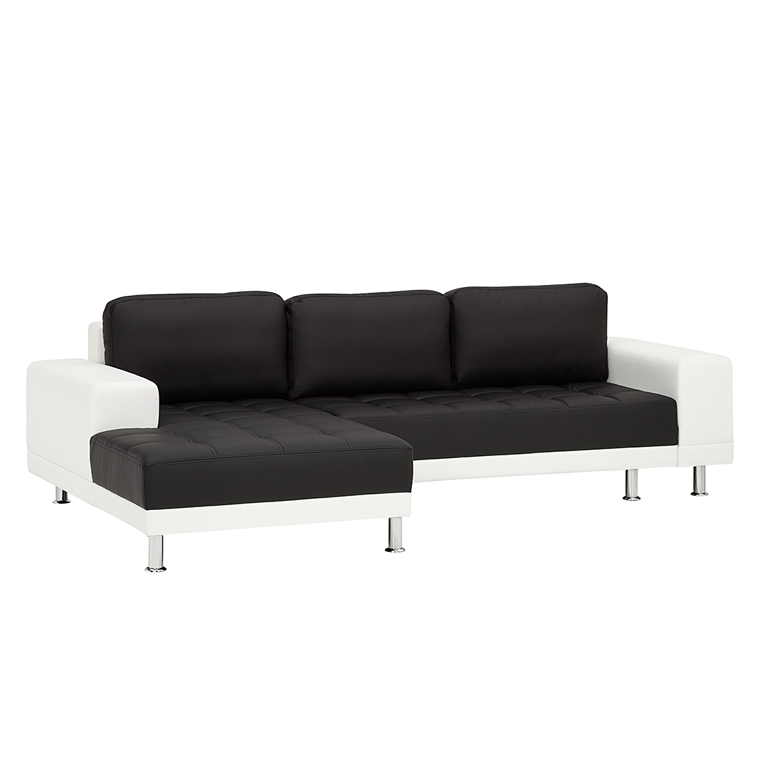 ecksofa schwarz wei schlafsofa schlafcouch sofa couch. Black Bedroom Furniture Sets. Home Design Ideas