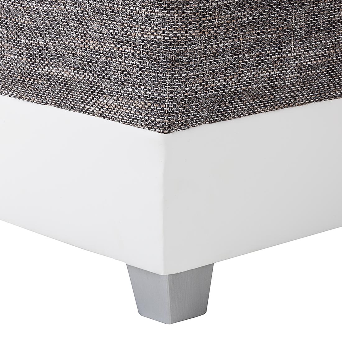 ecksofa stoff grau wei schlafsofa schlafcouch sofa couch. Black Bedroom Furniture Sets. Home Design Ideas