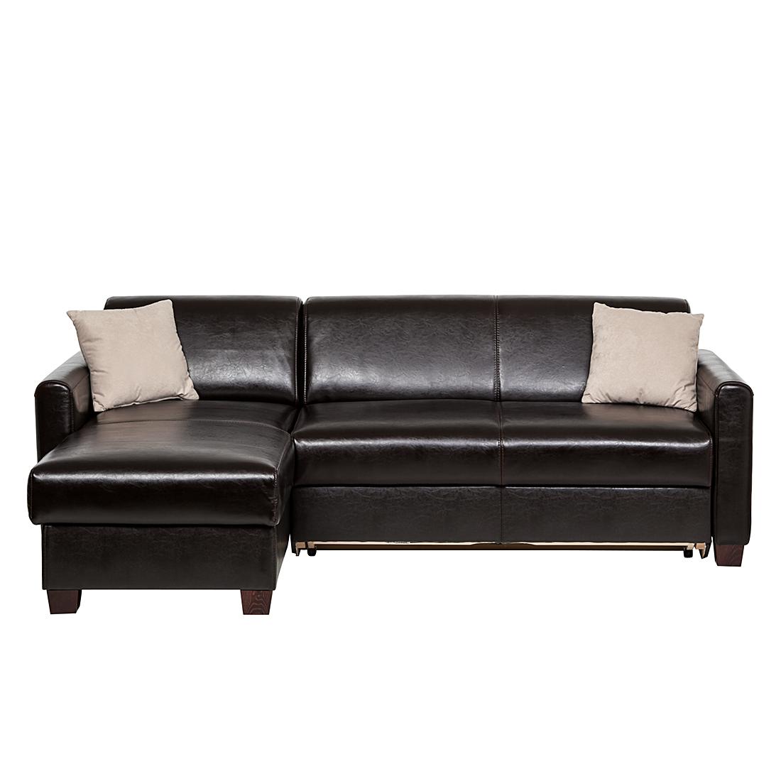 Elegant Echtleder Sofa Mit Schlaffunktion Sammlung Von Affordable Ecksofa Braun Ledersofa Eckcouch Couch Dunkelbraun
