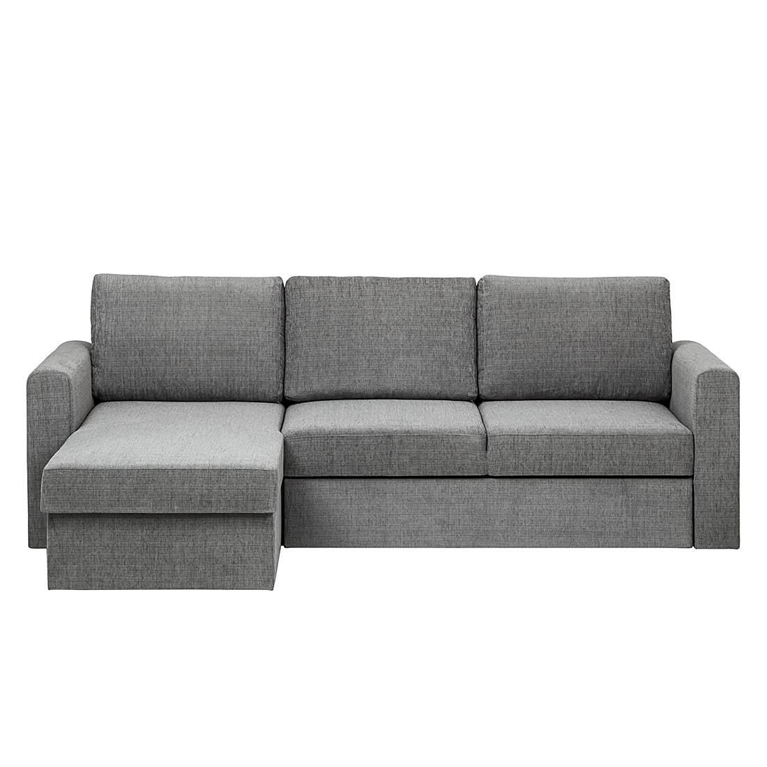 ecksofa stoff grau schlafsofa schlafcouch sofa couch eckcouch g stesofa neu ebay. Black Bedroom Furniture Sets. Home Design Ideas