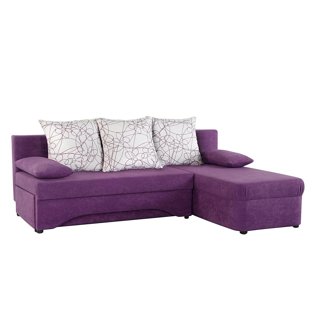 lila schlafsofa m belideen. Black Bedroom Furniture Sets. Home Design Ideas