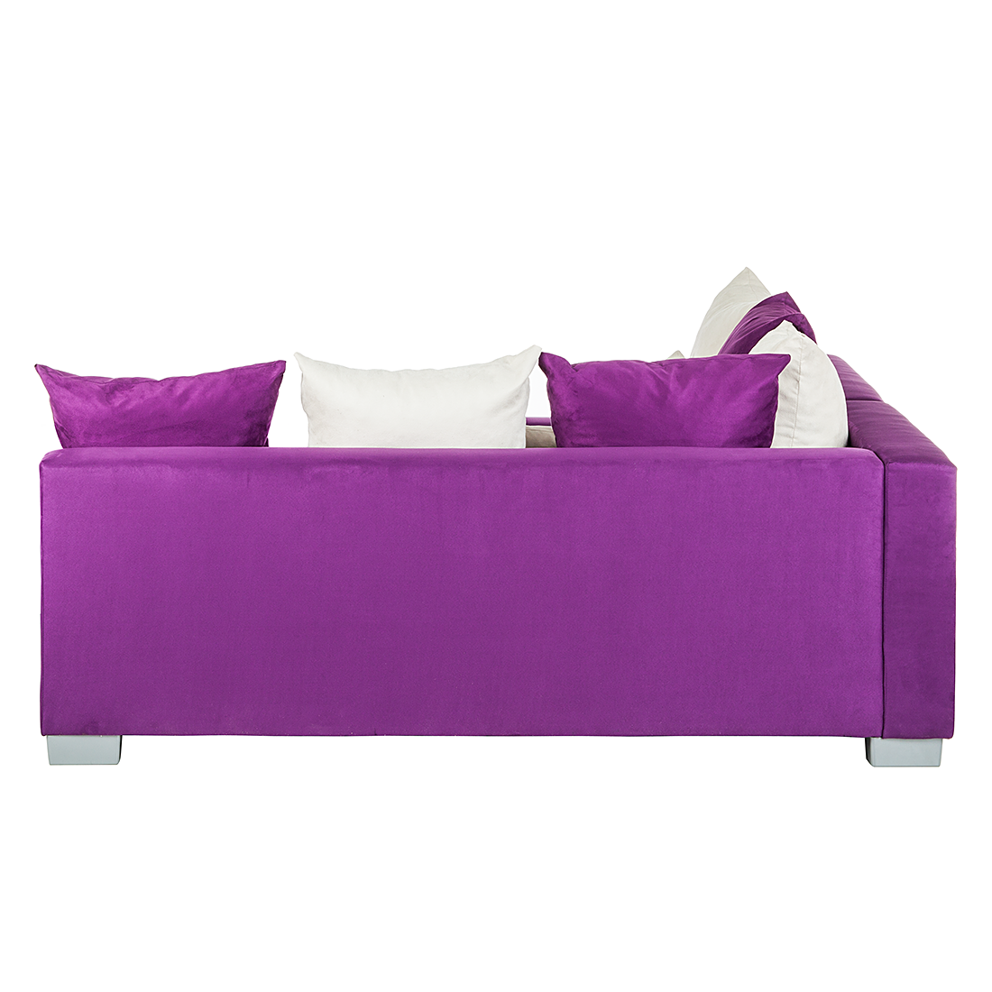Ecksofa Stoff Lila 3Sitzer Sofa Couch Eckcouch  -> Ecksofa Venus