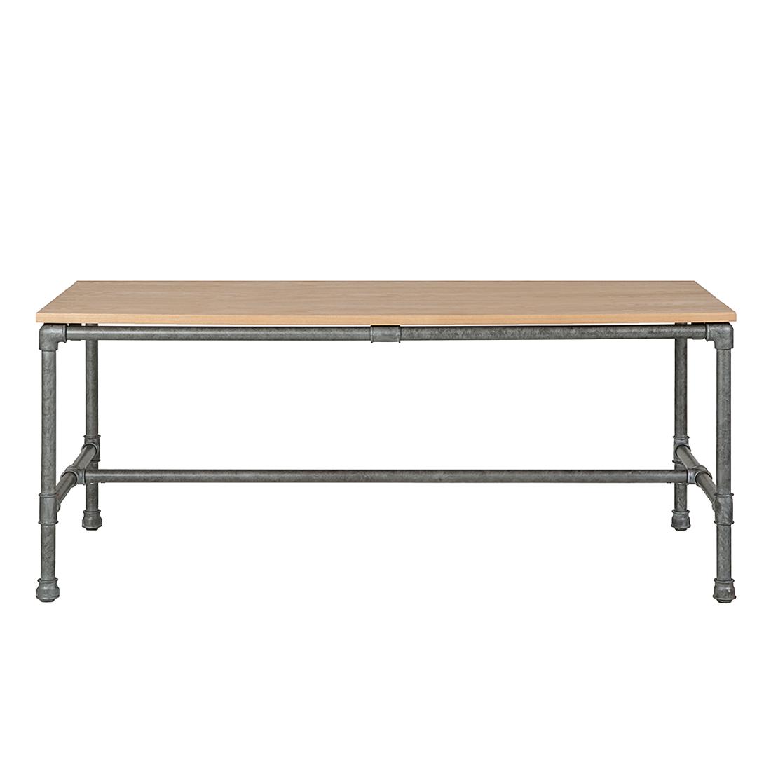 Esszimmertisch Holz Eiche : Eiche Stahl Antik Esszimmer Holz Tisch K ...