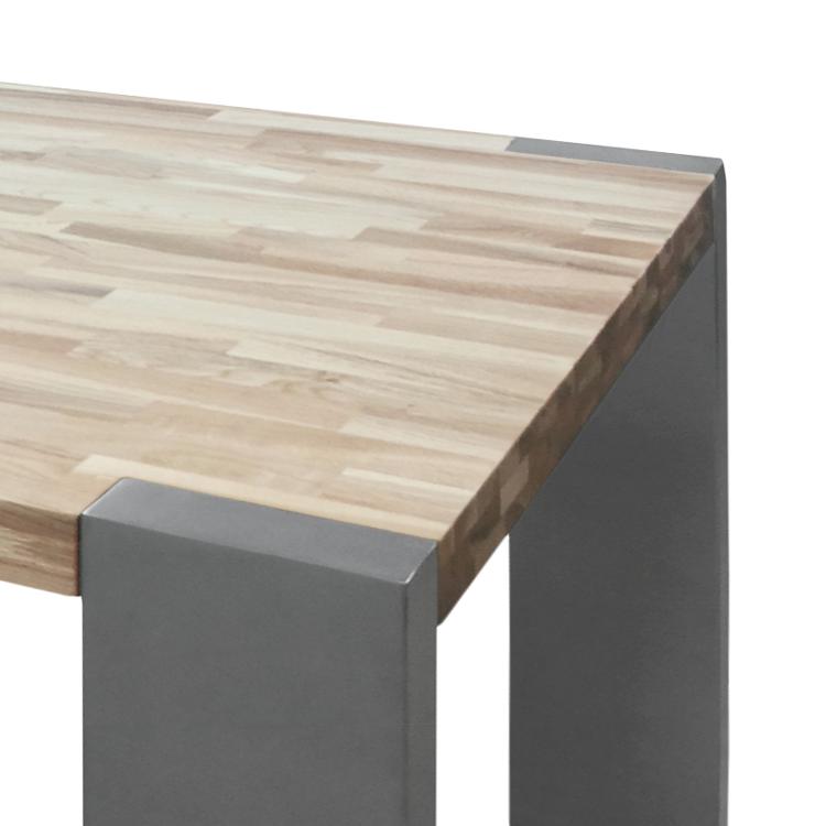 esstisch rund holz edelstahl die neueste innovation der. Black Bedroom Furniture Sets. Home Design Ideas