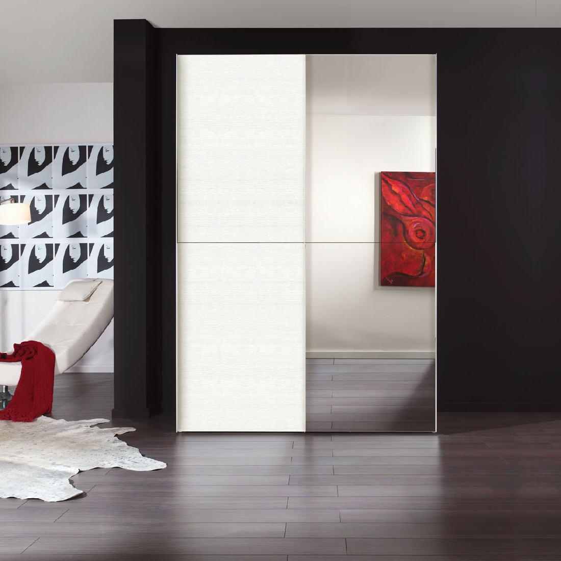 Malerisch Schwebetürenschrank 2 M Beste Wahl Gallery Of Trig Spiegel Struktur Wei Schrank